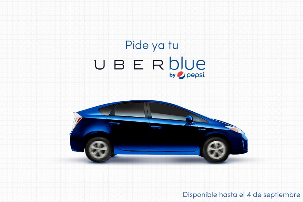 Uber Blue: Pepsi