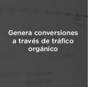 Cómo generar conversiones a partir de tráfico orgánico en comercio electrónico.
