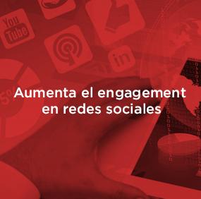 Tips para aumentar el engagement en redes sociales.